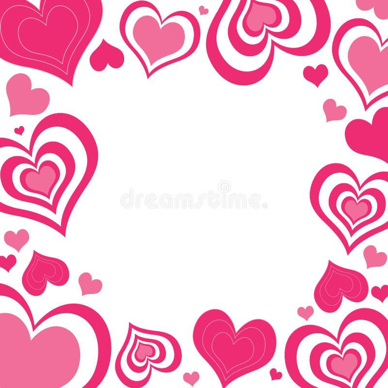 serca rabatowy valentine ilustracji