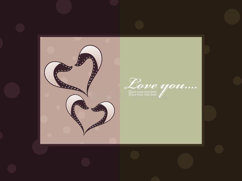 Download Serce Abstrakcjonistyczna Karciana Miłość Ilustracja Wektor - Ilustracja złożonej z rocznica, arte: 13330286