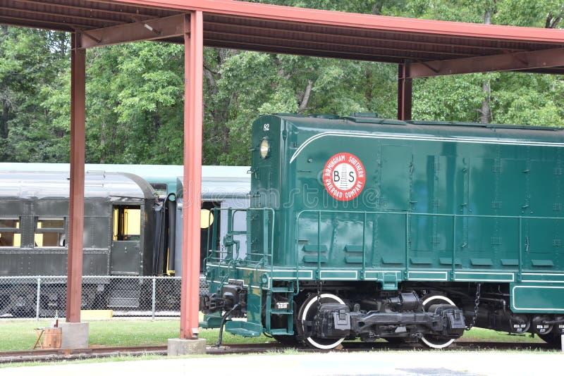 Serce Dixie linii kolejowej muzeum w Alabama obraz royalty free