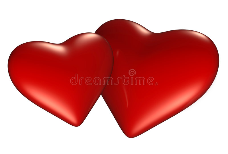 serce dwa ilustracji