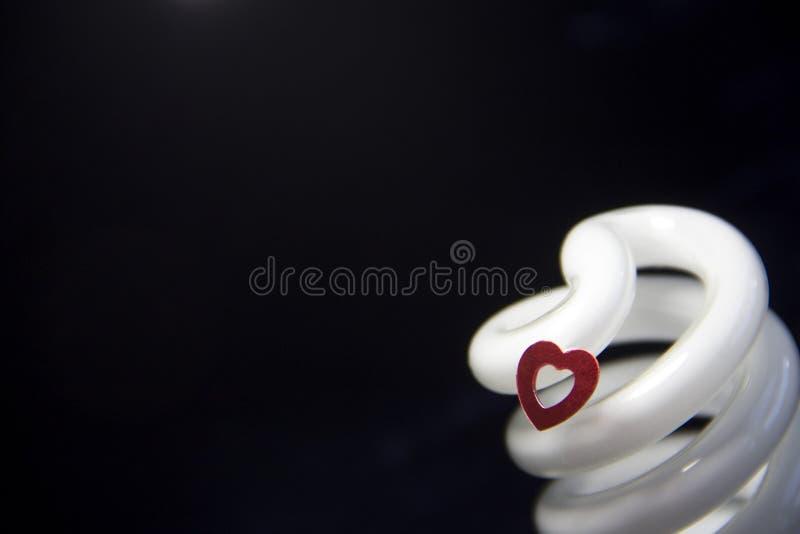 Serce i światło zdjęcie royalty free