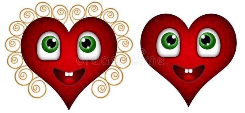 serce ikony ilustracji