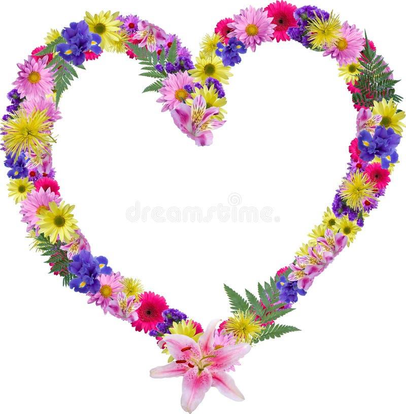 serce kwiecisty obrazy royalty free