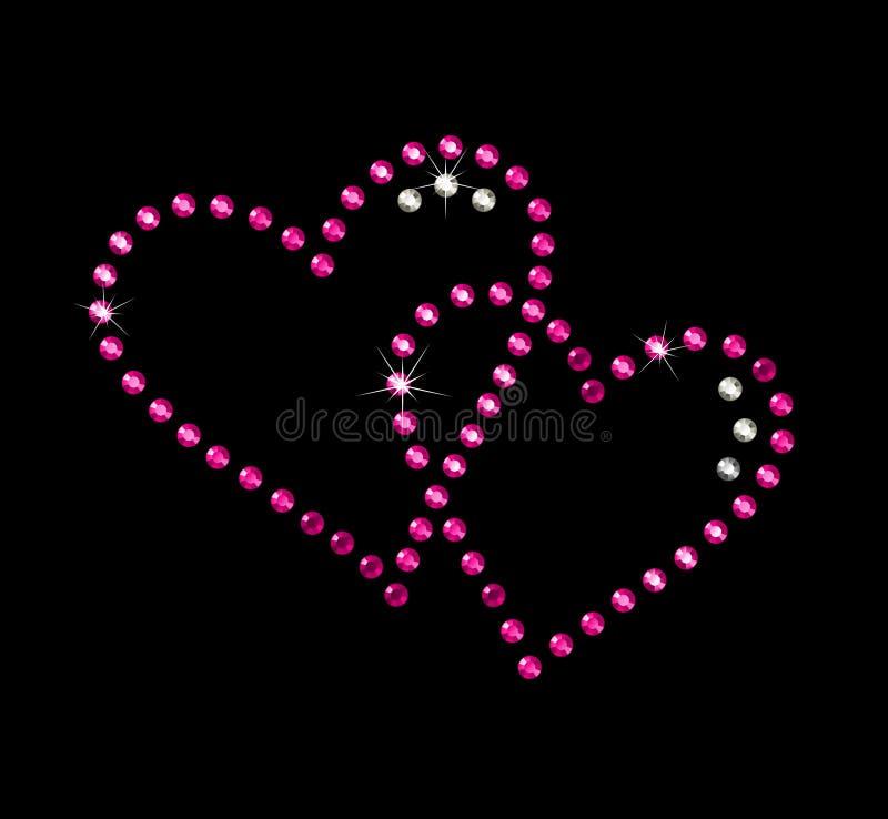 serce miłości royalty ilustracja