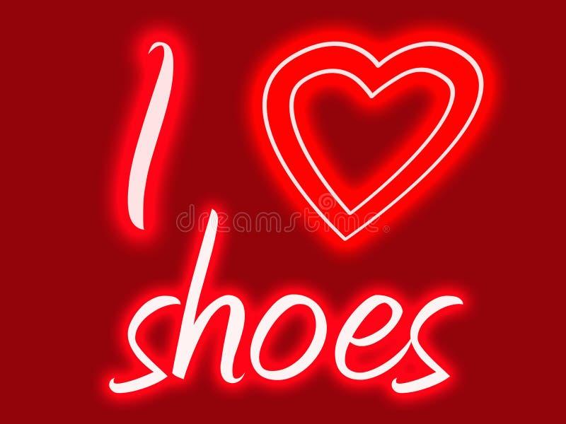 serce mi butów fotografia royalty free
