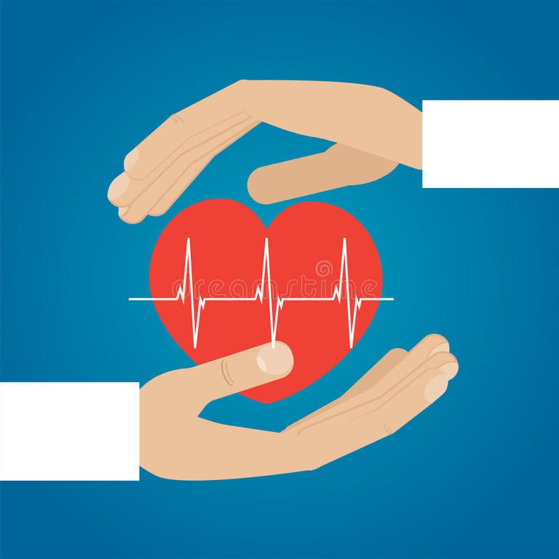 serce mi gospodarstwa czarny zmiany ikony wątrobowy medyczny ochrony po prostu biel ilustracja wektor