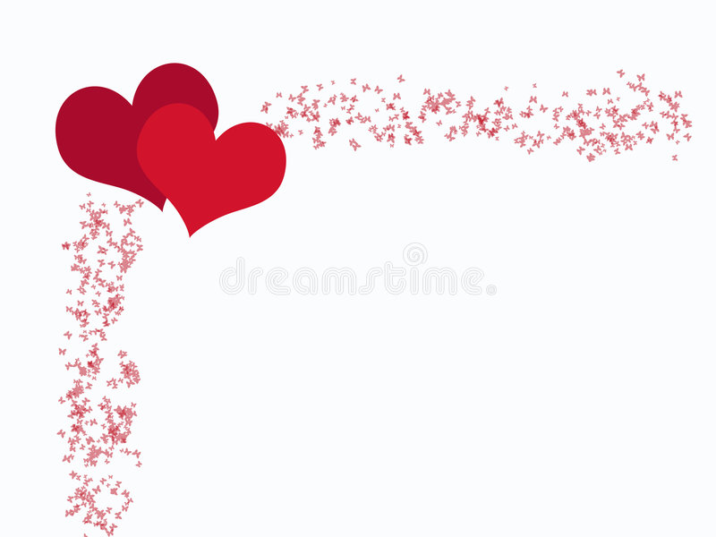 serce motyla ilustracji
