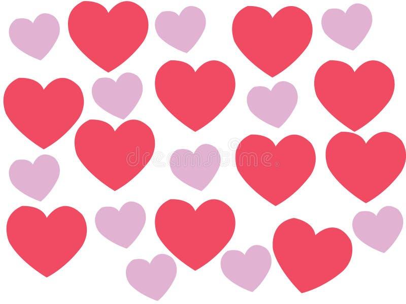 Serce nabrzmiewa przez miłości obraz royalty free