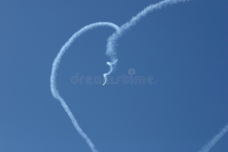 serce niebo obraz royalty free