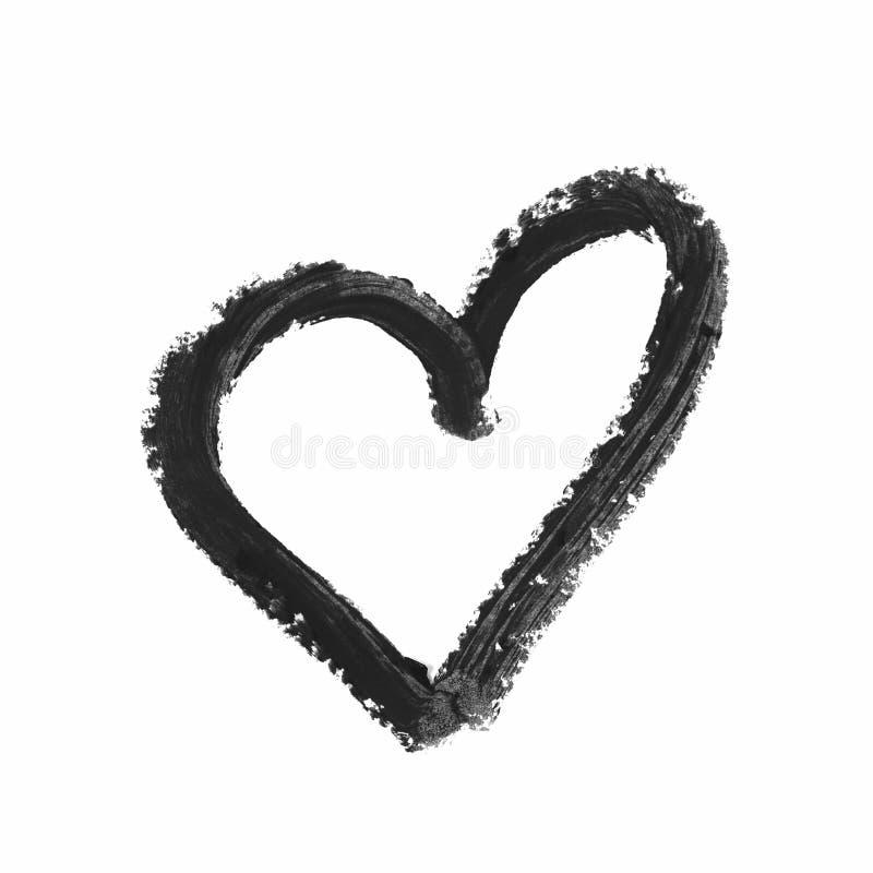 serce odizolowywający kształt obrazy royalty free