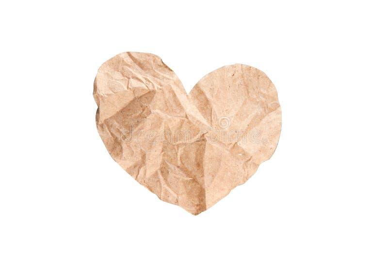 serce papier zdjęcie royalty free