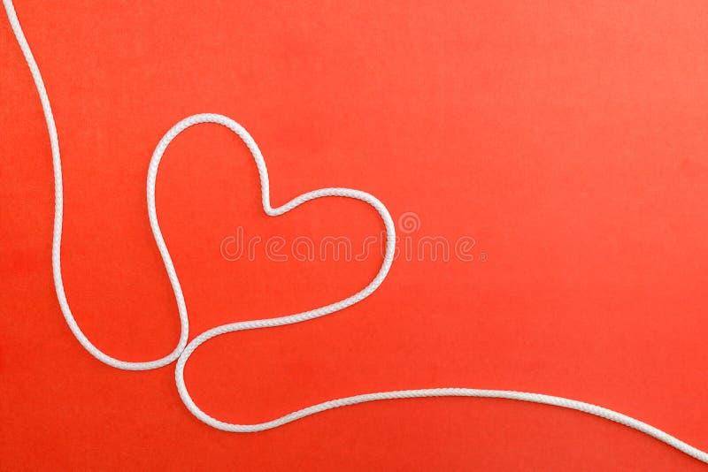 serce robić rope obrazy stock