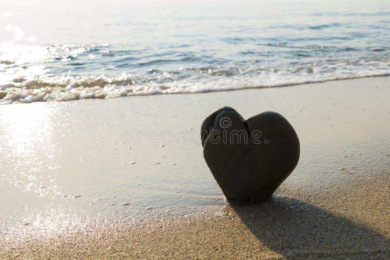 Serce skała obraz stock