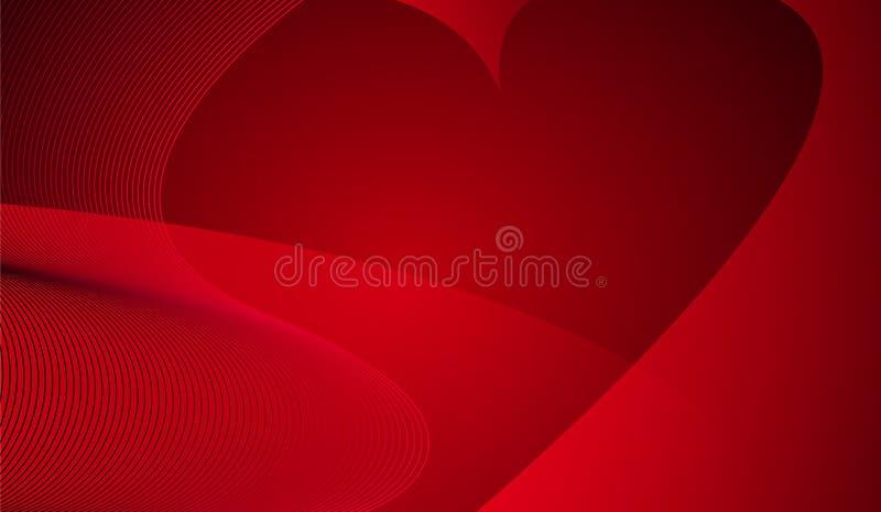 serce tła abstrakcyjne ilustracja wektor