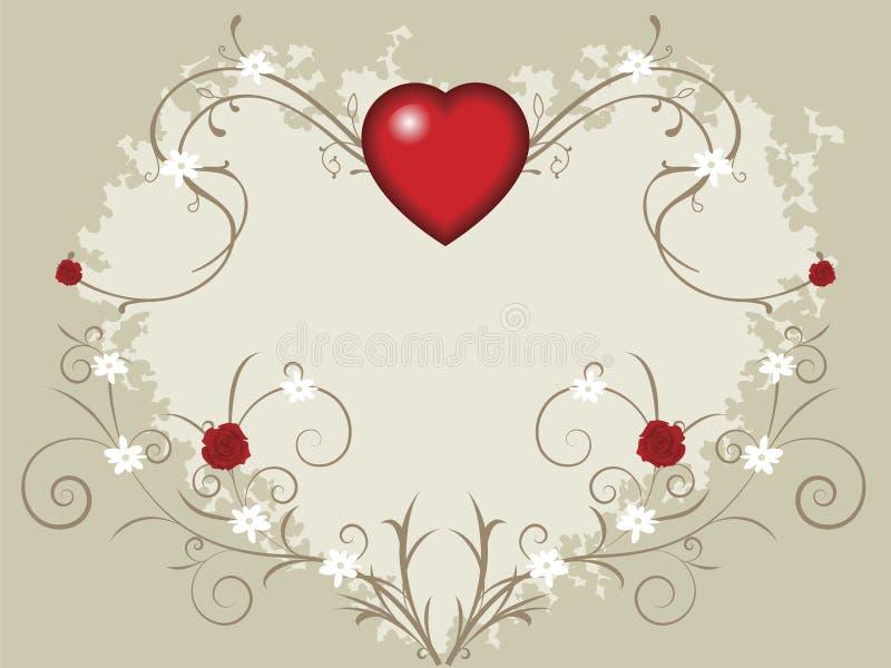 serce walentynki royalty ilustracja