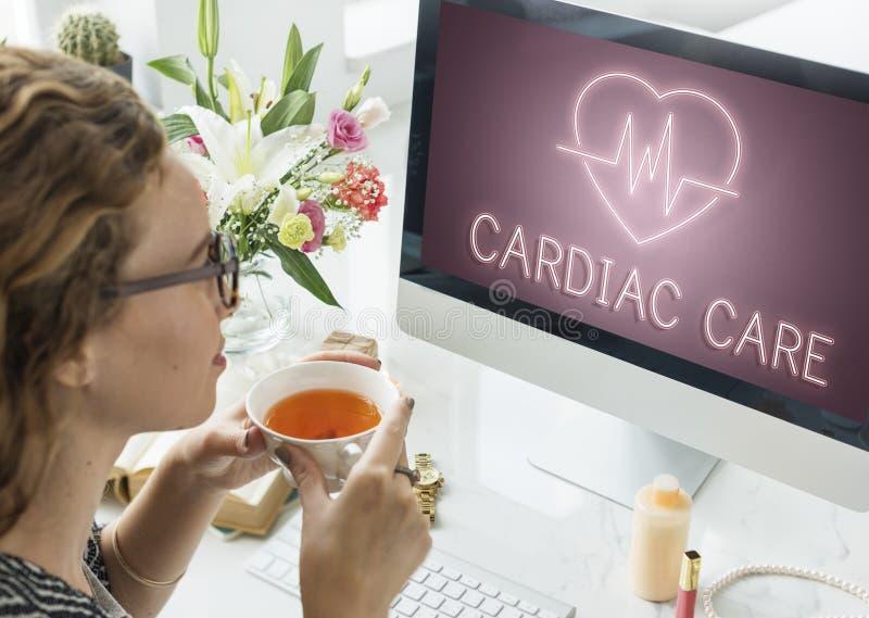 Sercowej choroby sercowo-naczyniowej Kierowy Graficzny pojęcie zdjęcia royalty free