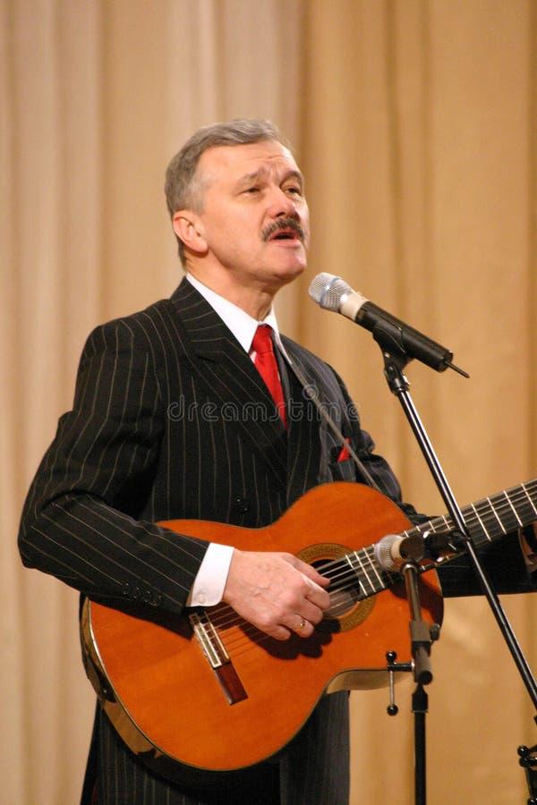 Download Serebrennikov Leonid Fedorovich Obraz Editorial - Obraz złożonej z artiste, piosenkarz: 53787150