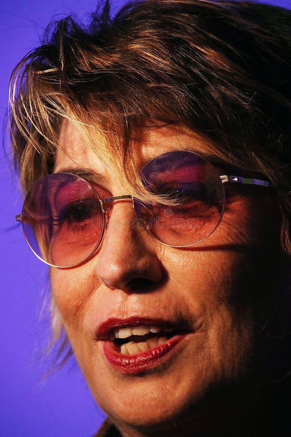 Serena Dandini, apresentador imagem de stock