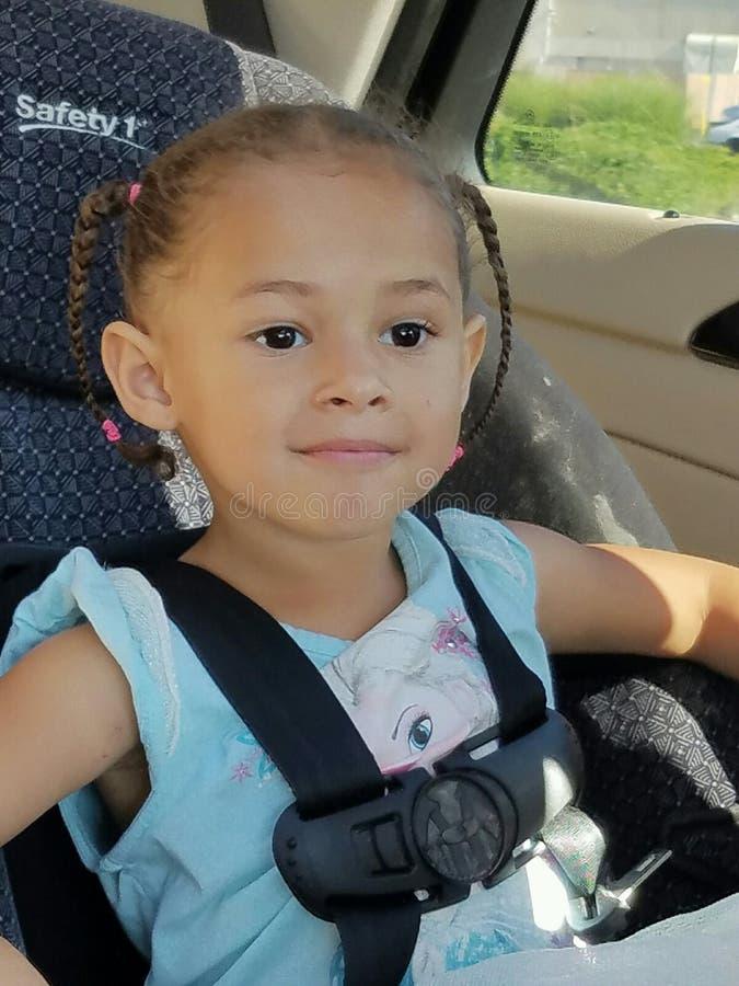 SERENA. My lil diva kid model stock photo