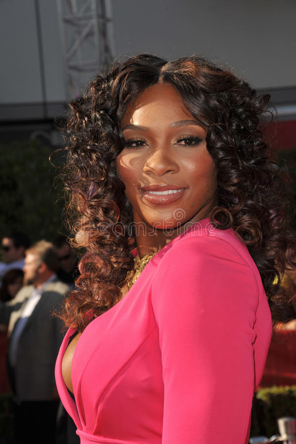 Serena Williams. At the 2011 ESPY Awards at the Nokia Theatre LA Live in downtown Los Angeles. July 13, 2011 Los Angeles, CA Picture: Paul Smith / Featureflash stock image