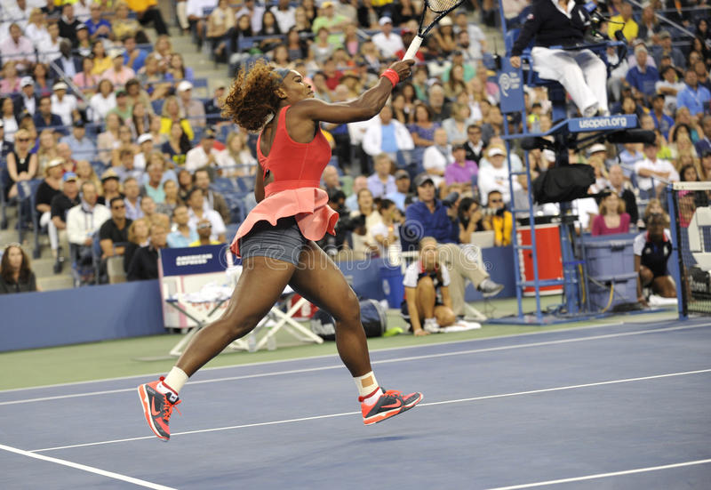 Serena Williams-Meister US 2013 (3) lizenzfreie stockfotos