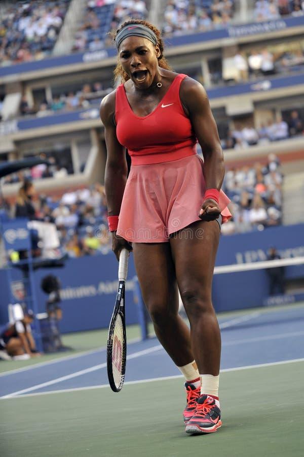 Serena Williams mistrz USA 2013 (5) zdjęcie royalty free