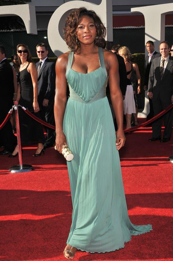 Serena Williams obraz stock