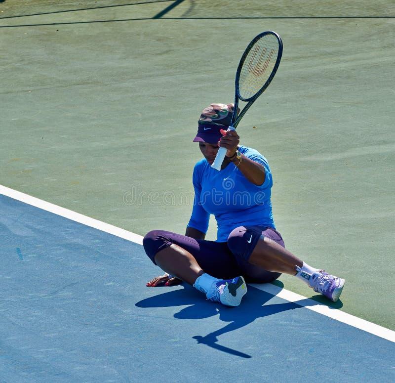 Serena Williams In Umag, Croazia immagine stock libera da diritti