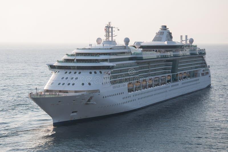 Serenata reale della nave dei Caraibi dei mari fotografie stock