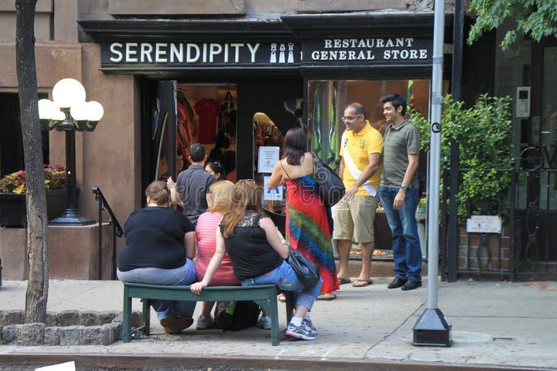 Serendipity restaurant royalty-vrije stock foto