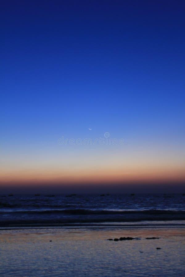 Serene Goa-Buche lizenzfreie stockbilder