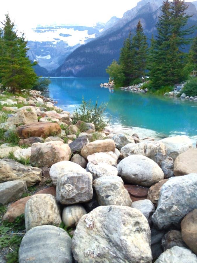 Serene Lake fotografia de stock royalty free