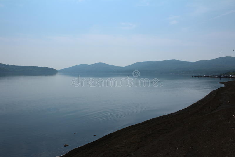 Serene lake royalty free stock photo