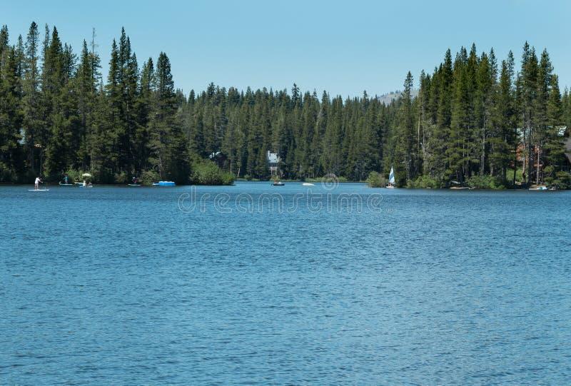 Serene Lakes, Nord-Kalifornien stockfotografie