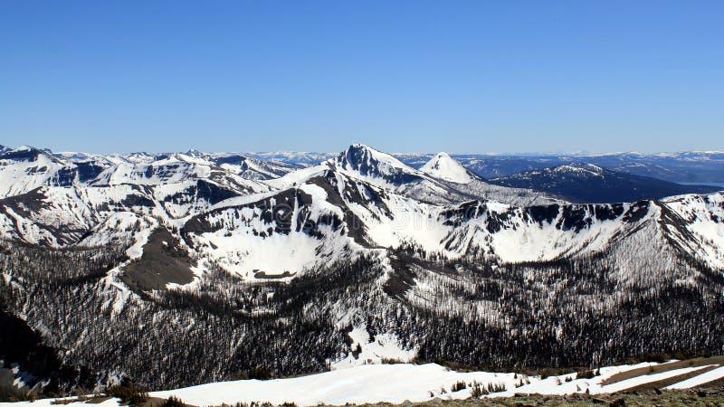 Serene Mountain Range photographie stock libre de droits