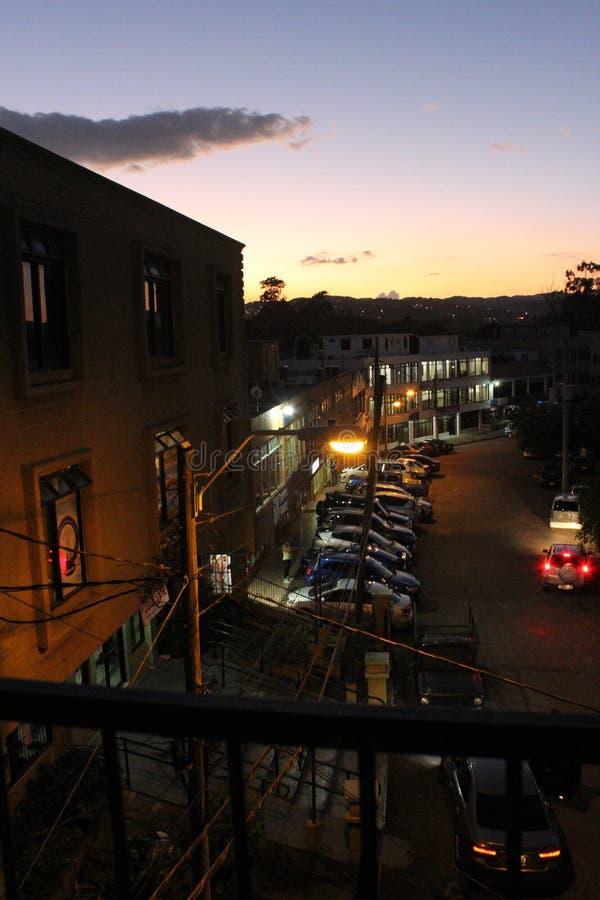 Serene Nighttime stockfotografie