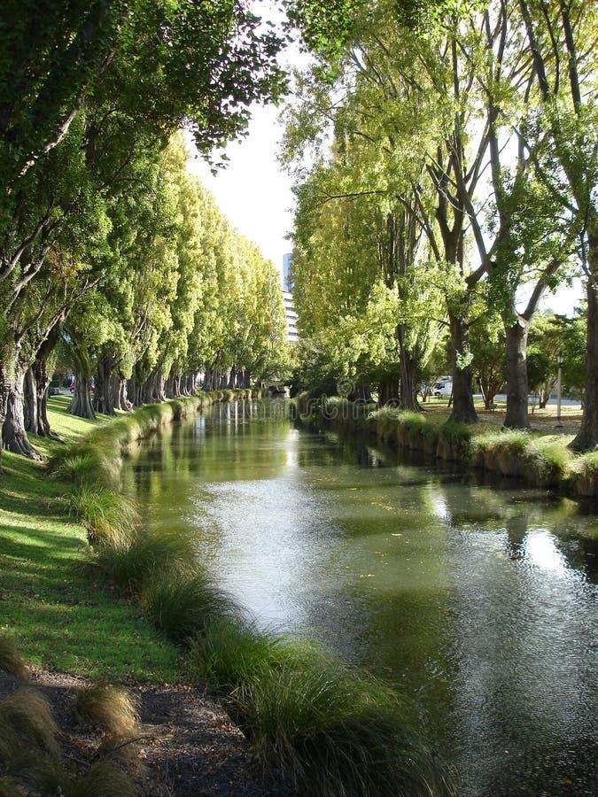 Serene River 2 stock image