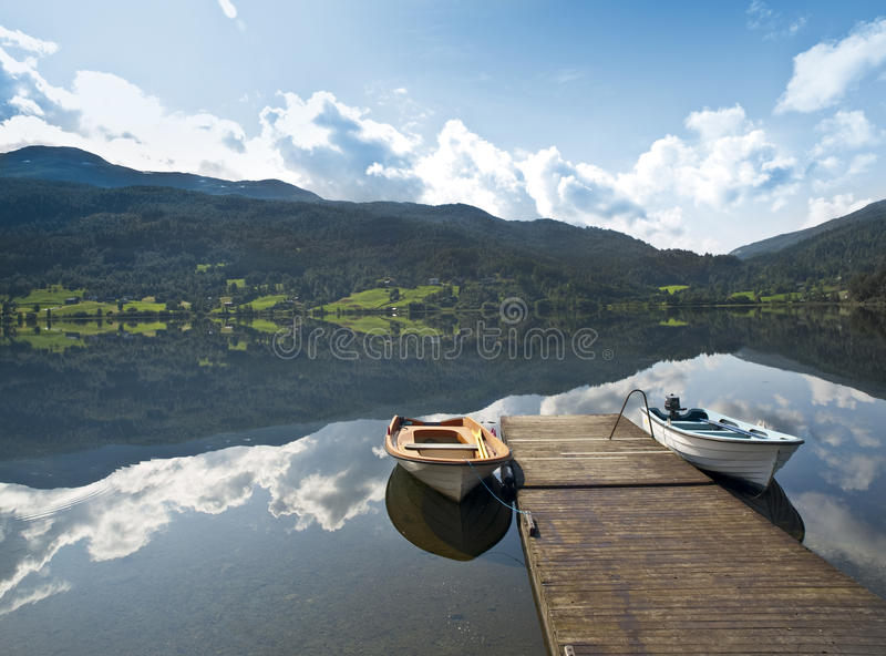 Download Serene Scenery In Th Norweigan Fjords Stock Images - Image: 10993884