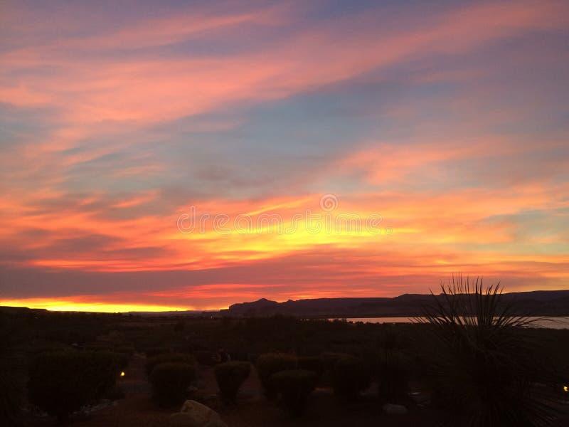 Serene sky stock foto's