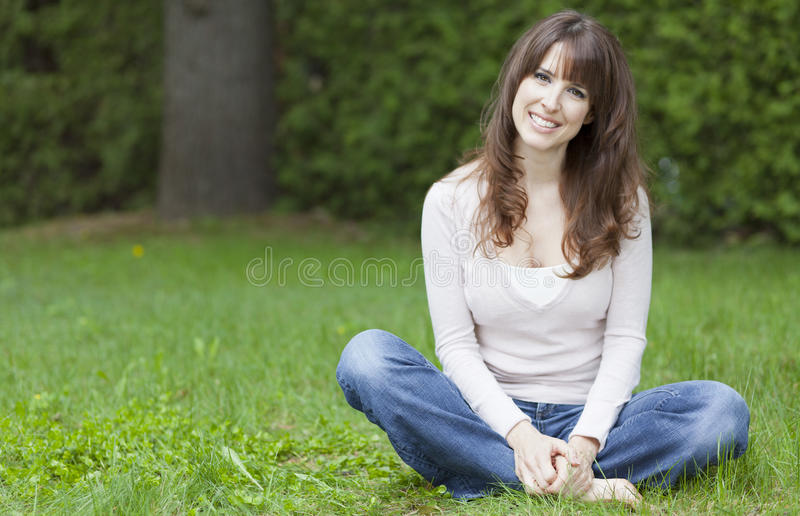 Serene Woman royalty free stock photography