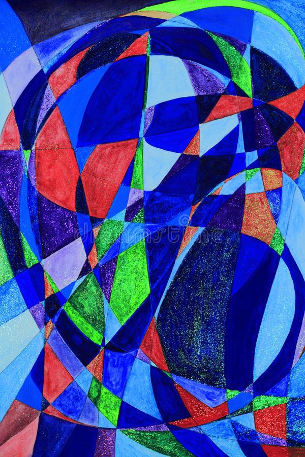 Download Serenethos Abstract Art Painting Stock Illustration - Illustration: 18139327