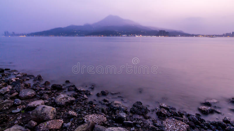 Serenità (Taiwan - Tamshui) fotografia stock