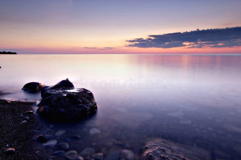 Sereniteit op Meer Ontario royalty-vrije stock foto
