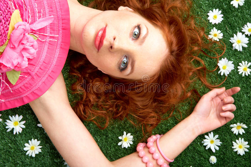 Download Serenity stock image. Image of caucasian, fresh, accessory - 13758227