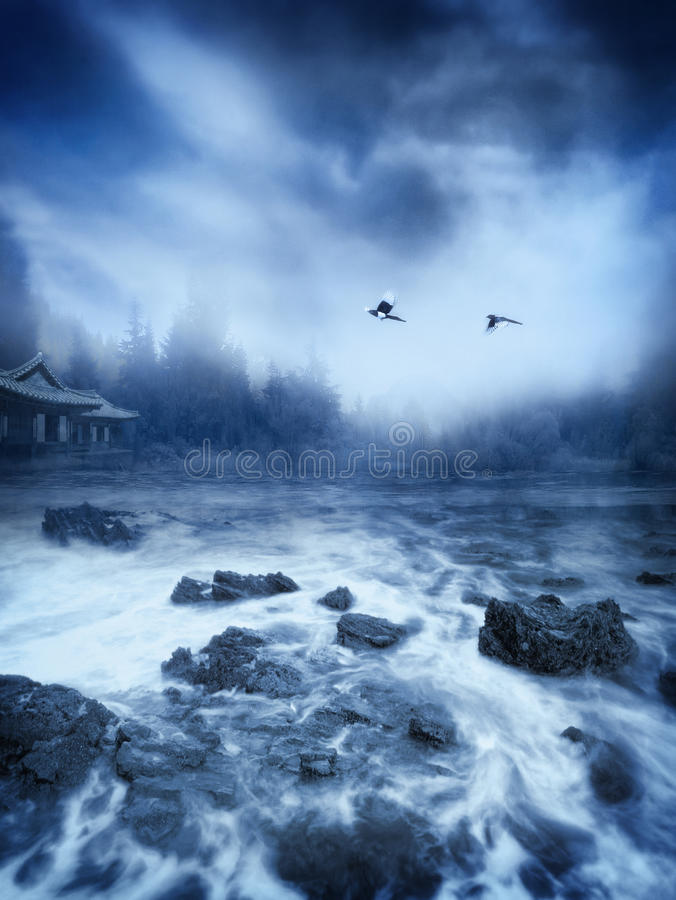 Serenity royalty free stock images