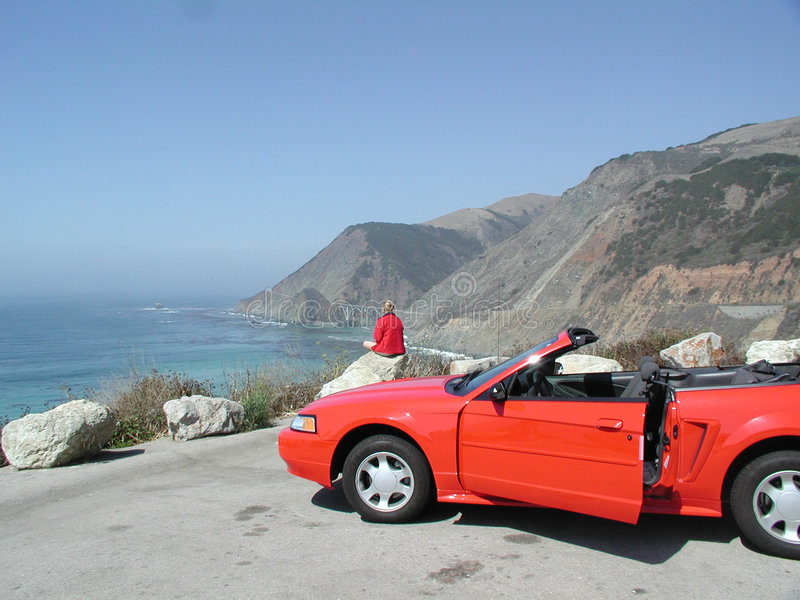 Download Serenity And Adrenaline (Hwy 1, CA) Stock Image - Image: 1402849
