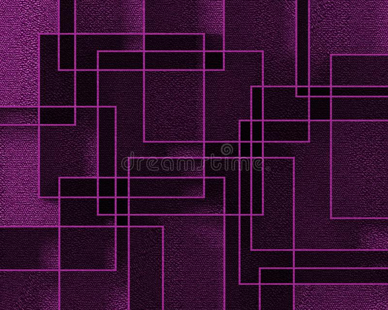 Serenity background. With forms of direct 3D render stock illustration