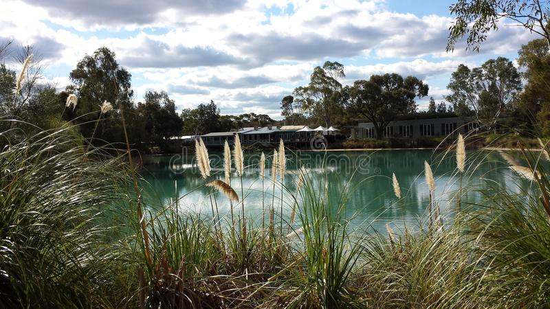 Serenity at maggie beers. Maggie beer south australia royalty free stock photo