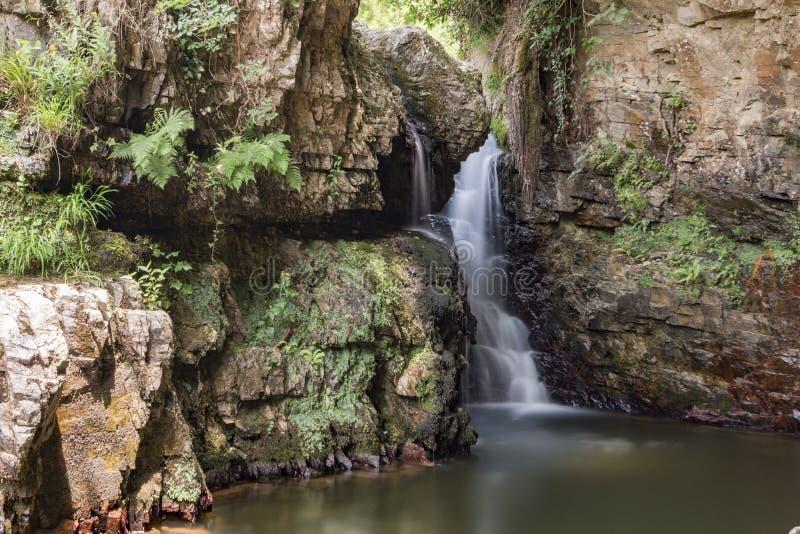 Sergen, hell waterfalls, Kirklareli, Turkey. Turkish Sergen Cehennem Selaleleri royalty free stock images