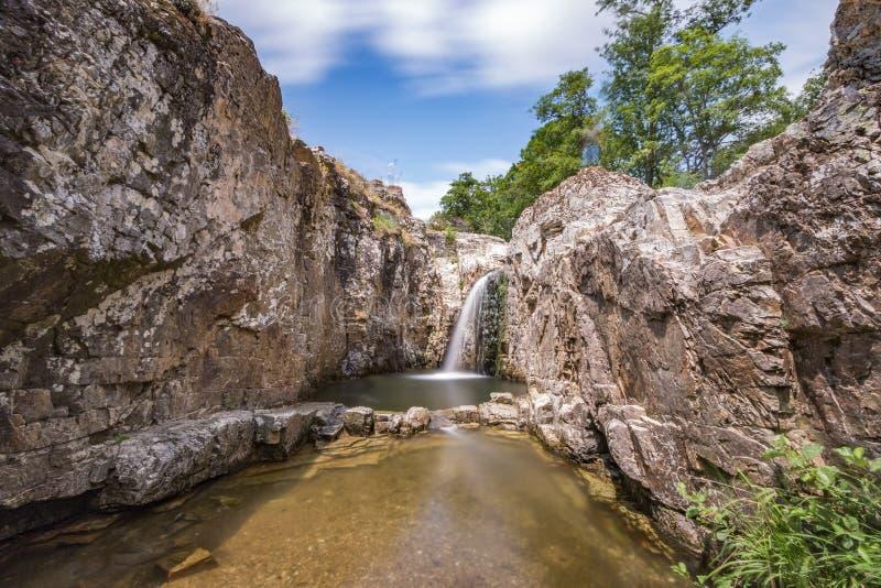 Sergen, hell waterfalls, Kirklareli, Turkey. Turkish Sergen Cehennem Selaleleri stock photos